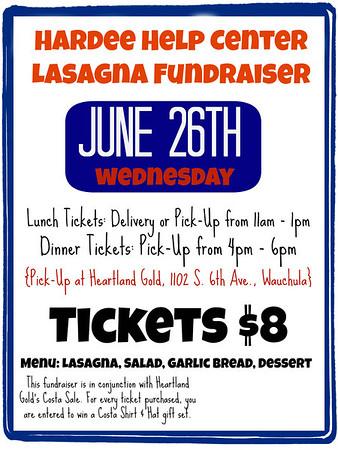 HHC Lasagna Fundraiser 2013