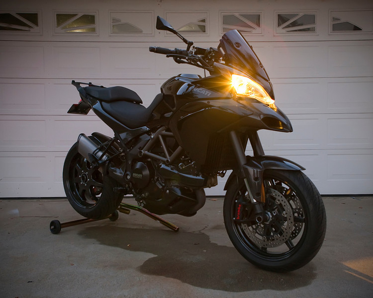 3/3 - a few modifications since the last two photos were taken!!!! (more photos here) Black Multistrada 1200S Sport - Ducati.MS member 'Borracho'....with more than a few very tasteful modifications....what a beauty!....a black beauty!! :D Chris Kraft Photography