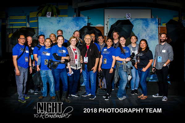 Volunteers, A Night to Remember 2018