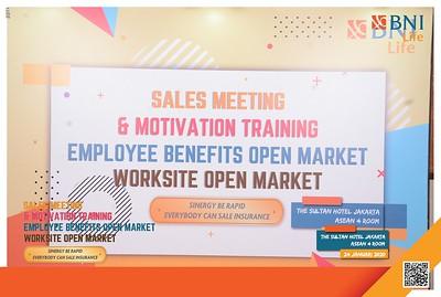 200124   BNI Life Sales Meeting & Motivation Training