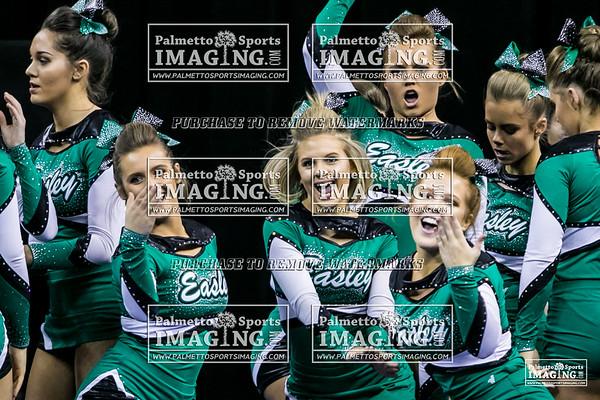 Easley High School State Cheer 2018