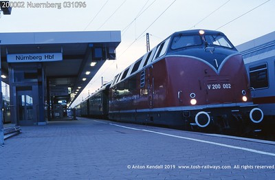 Baureihe 220 221 200 DB
