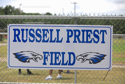 Coach Russell Priest Field naming