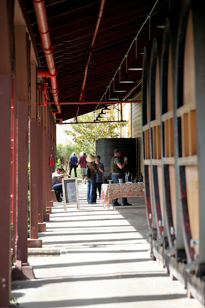 Martin Ray Winery Barrel Tasting 2014