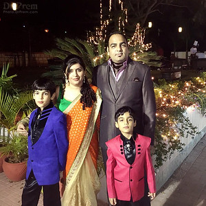 Dr Prem with Family