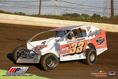 Grandview Speedway - 7/28/18 - Steve Sabo (SDS)