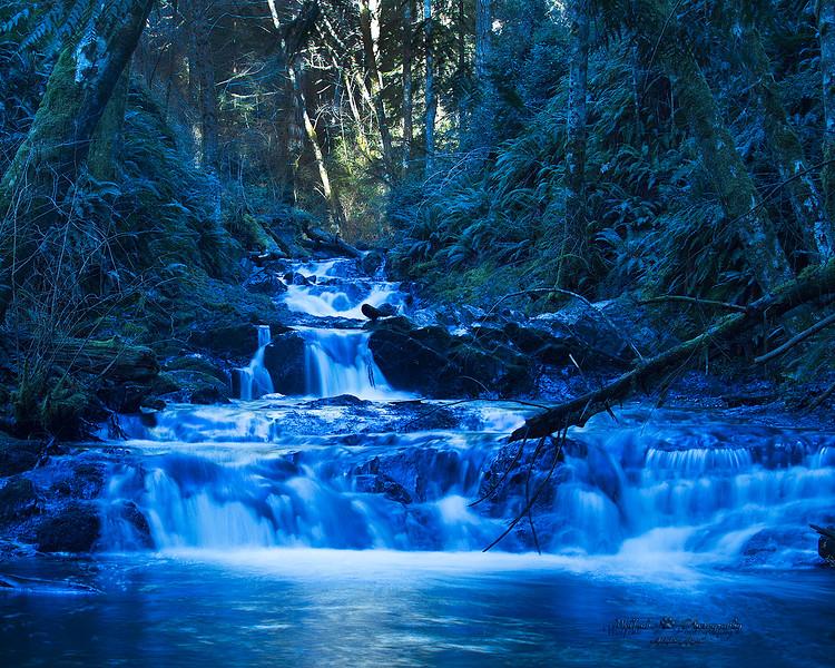 Gold Creek Falls, Seabeck Washington.