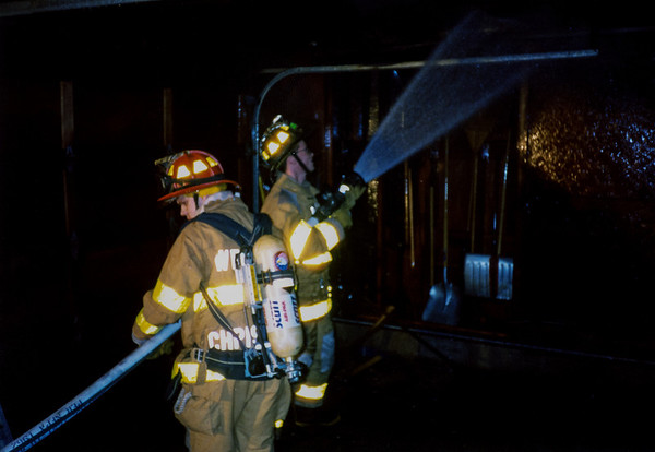 Langston House Garage Fire