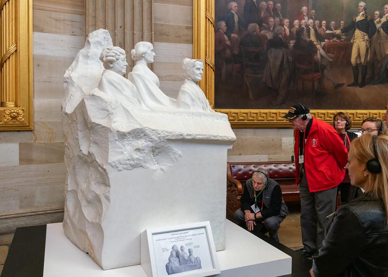 Woman Suffrage Portrait Monument