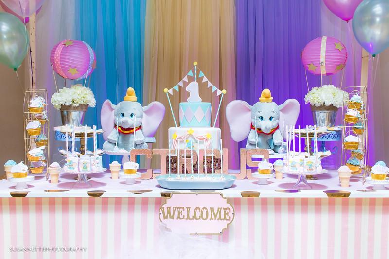 Charlize's First Birthday