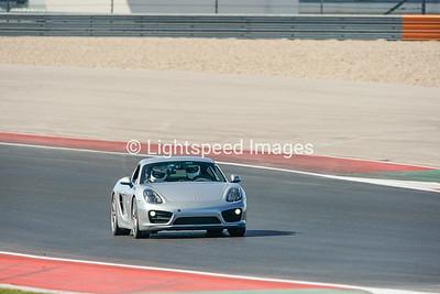 #8 Silver Porsche Cayman S