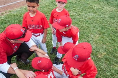 Angels baseball game