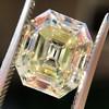 4.71ct Antique Asscher Cut Diamond GIA WX VS2 19