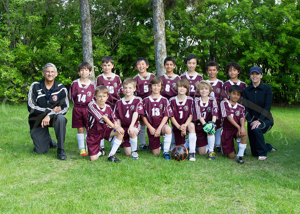 Southwest Sting 2012 Outdoor Teams