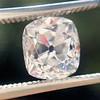 2.03ct Antique Cushion Cut Diamond GIA G SI1 18