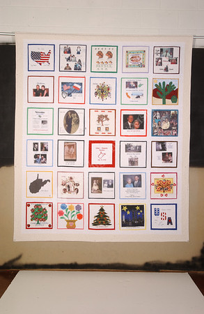 22238 framed quilt print