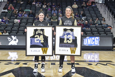 WBK UNCG Senior Day