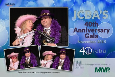 ICBA - 40th Anniversary Gala 2015
