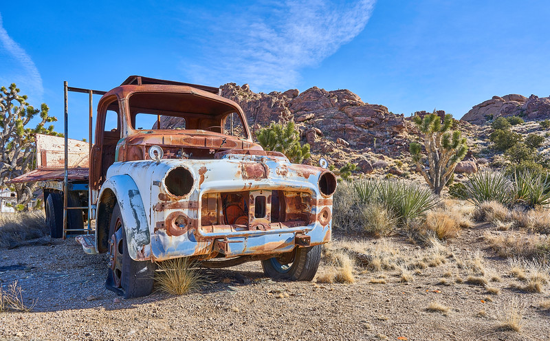 Abandoned Truck in Mojave