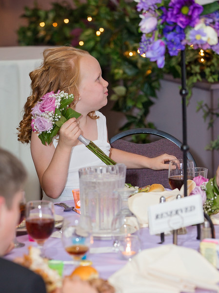 Grace eating with bouquet.jpg