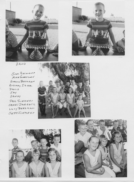 Scanned album Ruben-Frankie. David bday party