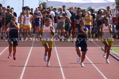Girls Jv/Varsity 100m 030610