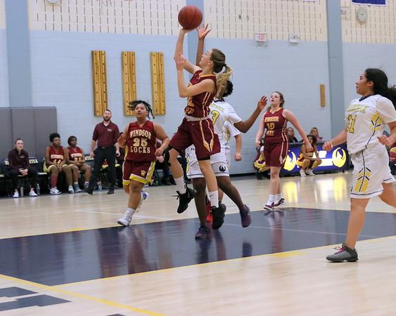 Windsor Locks Raiders Girls Basketball vs HMCTA