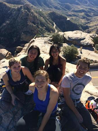 2015 Winter Break at Mount Lemmon