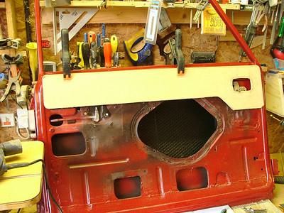 Radford mini wooden door tops prototype