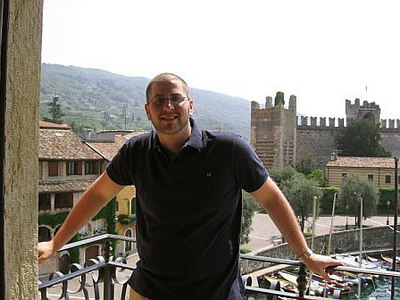 Craig, Hotel Gardesana, Lake Garda / Gina's Photos