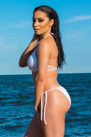 Natalia Bonilla Beach Shoot