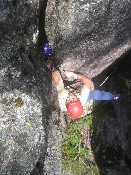 Stuart on Jesse James (16) in the Gorge at Mount Buffalo
