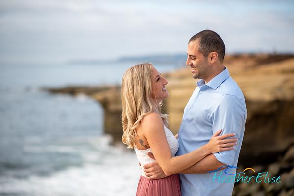Rashel + Michael | Sunset Cliffs Engagement | San Diego Wedding Photographer