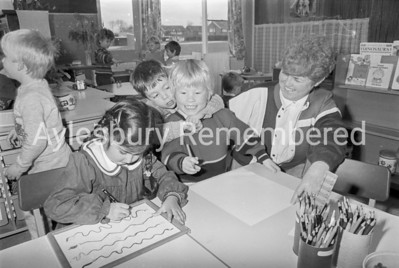 Bedgrove Nursery School, Jan 1989