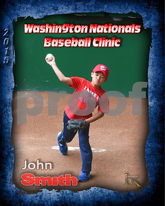 Washington Nationals Baseball Clinic