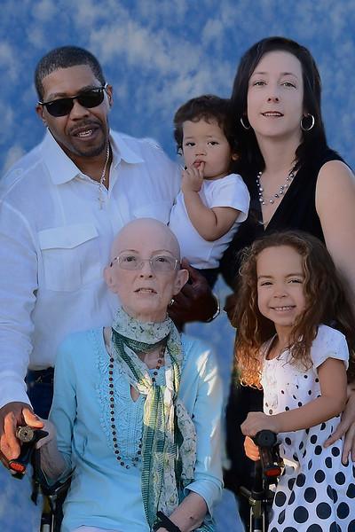Beverleigh Jordan  and family  October 2014
