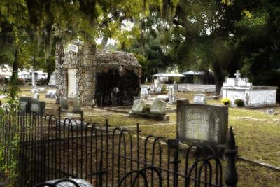 Old  Biloxi Cemetery Tour 2015