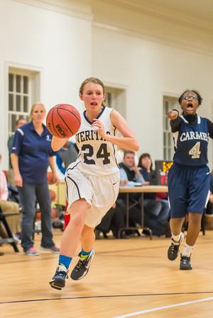 Varsity Girls vs Carmel 12/2/2014
