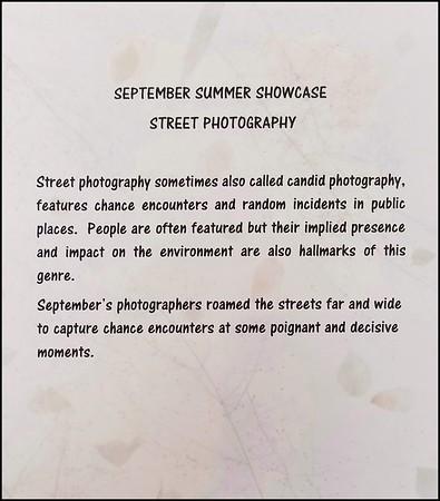 Street Photography  Showcase