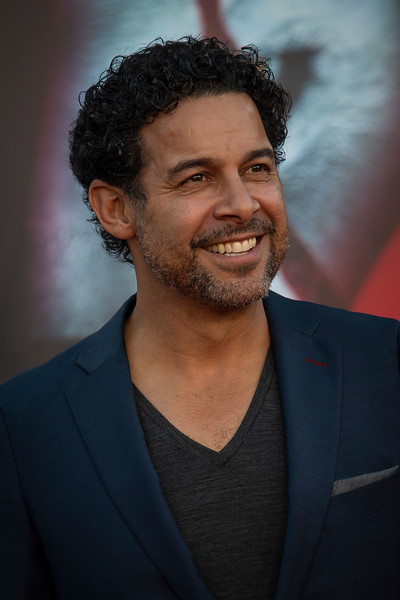 """WESTWOOD, CA - AUGUST 26: Jon Huertas attends the Premiere Of Warner Bros. Pictures' """"It Chapter Two"""" at Regency Village Theatre on Monday, August 26, 2019 in Westwood, California. (Photo by Tom Sorensen/Moovieboy Pictures)"""