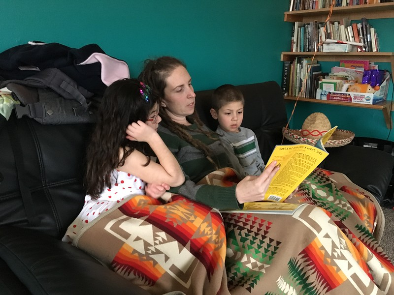 book time with Aunt Sara