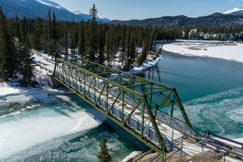 Bridge over the Athabasca River