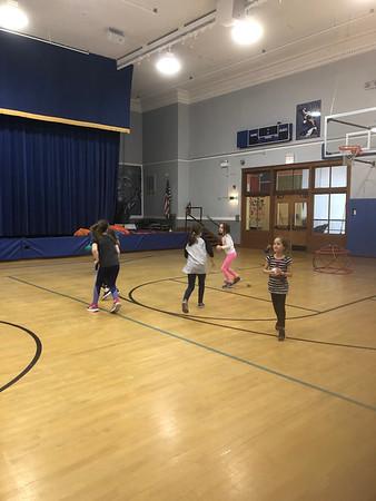 Hamilton Elementary Throw Clinic 4.12.19