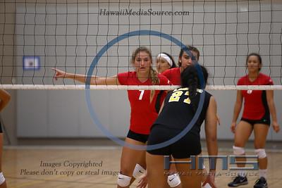 High School Girls Volleyball 2015