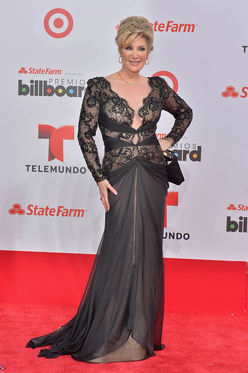 . MIAMI, FL - APRIL 25:  Felicia Mercado arrives at Billboard Latin Music Awards 2013 at Bank United Center on April 25, 2013 in Miami, Florida.  (Photo by Gustavo Caballero/Getty Images)