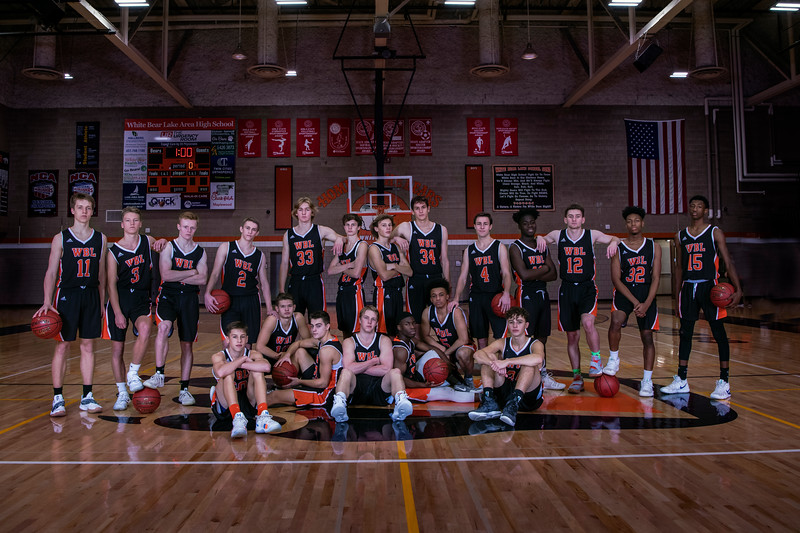 White Bear Lake  Boys Basketball 2018/19