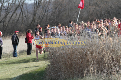 Men at 1200m mark - 2013 NCAA Division I Great Lakes Region Cross Country Championships
