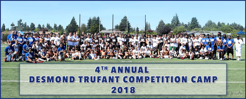 4th Annual Desmond Trufant Competition Camp 2018