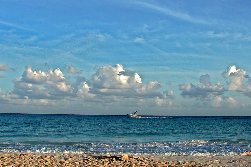View from Isla Mujeres