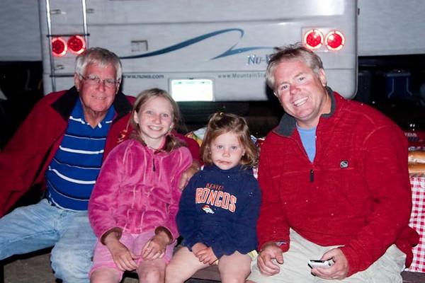 Larry, Evie, Lili and David.